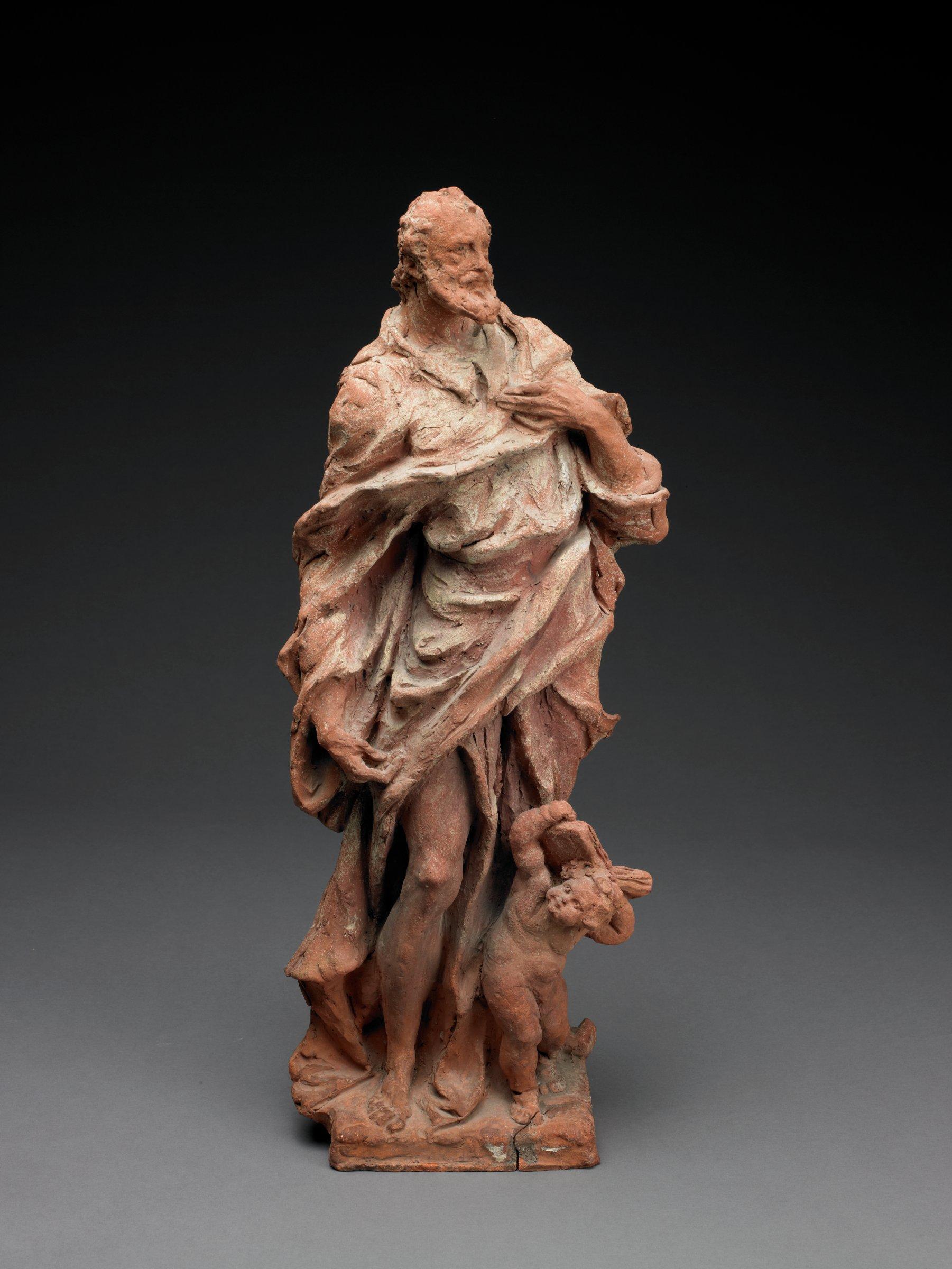 St. Matthew, Giuseppe Bernardi, called Torretto, terracotta