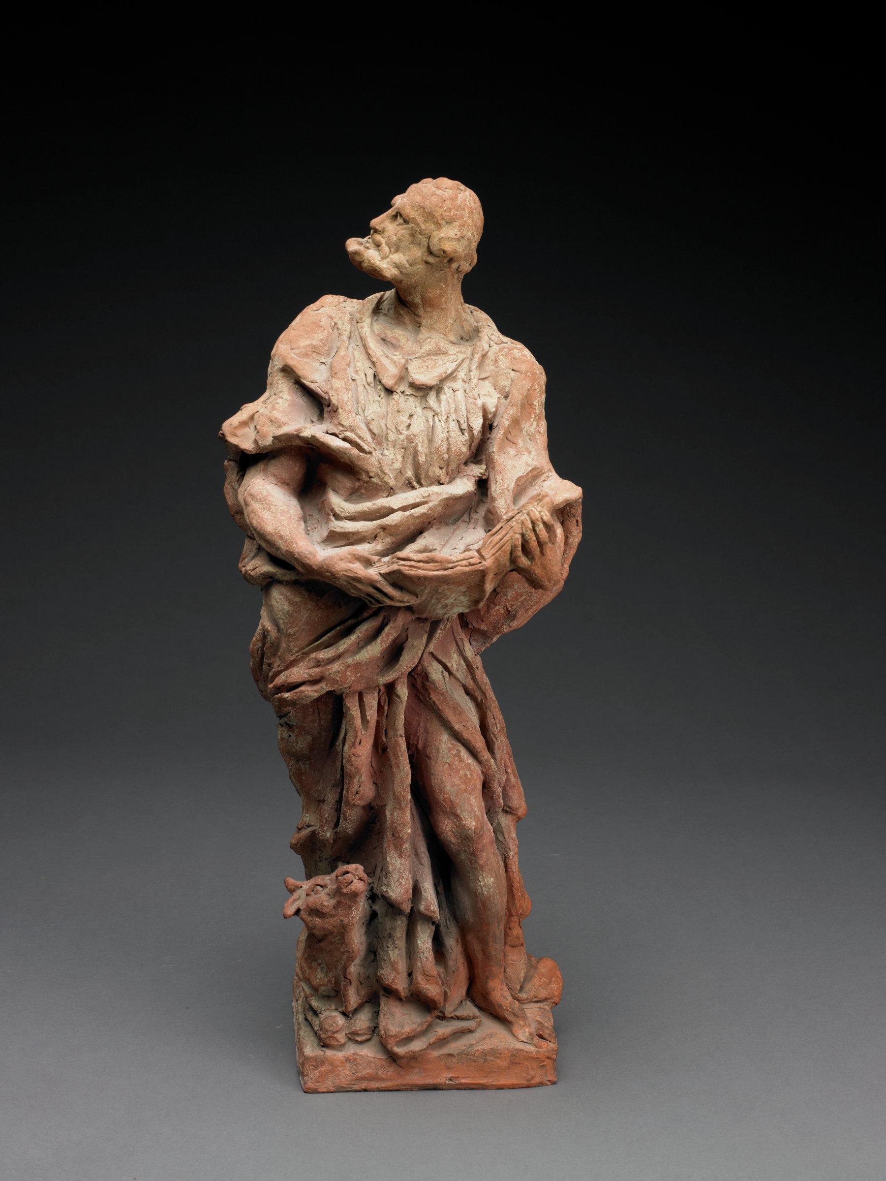 St. Luke, Giuseppe Bernardi, called Torretto, terracotta