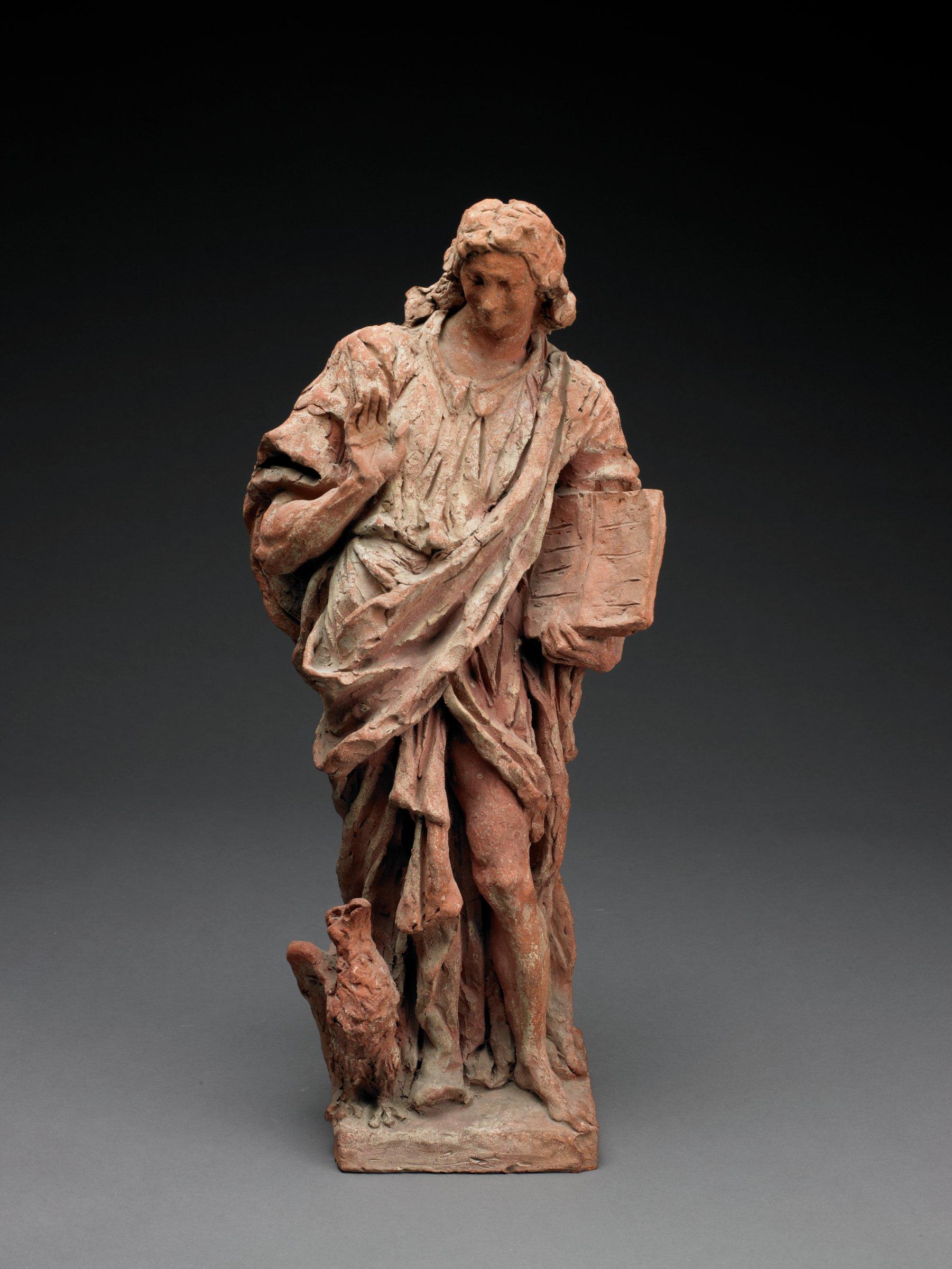 St. John, Giuseppe Bernardi, called Torretto, terracotta