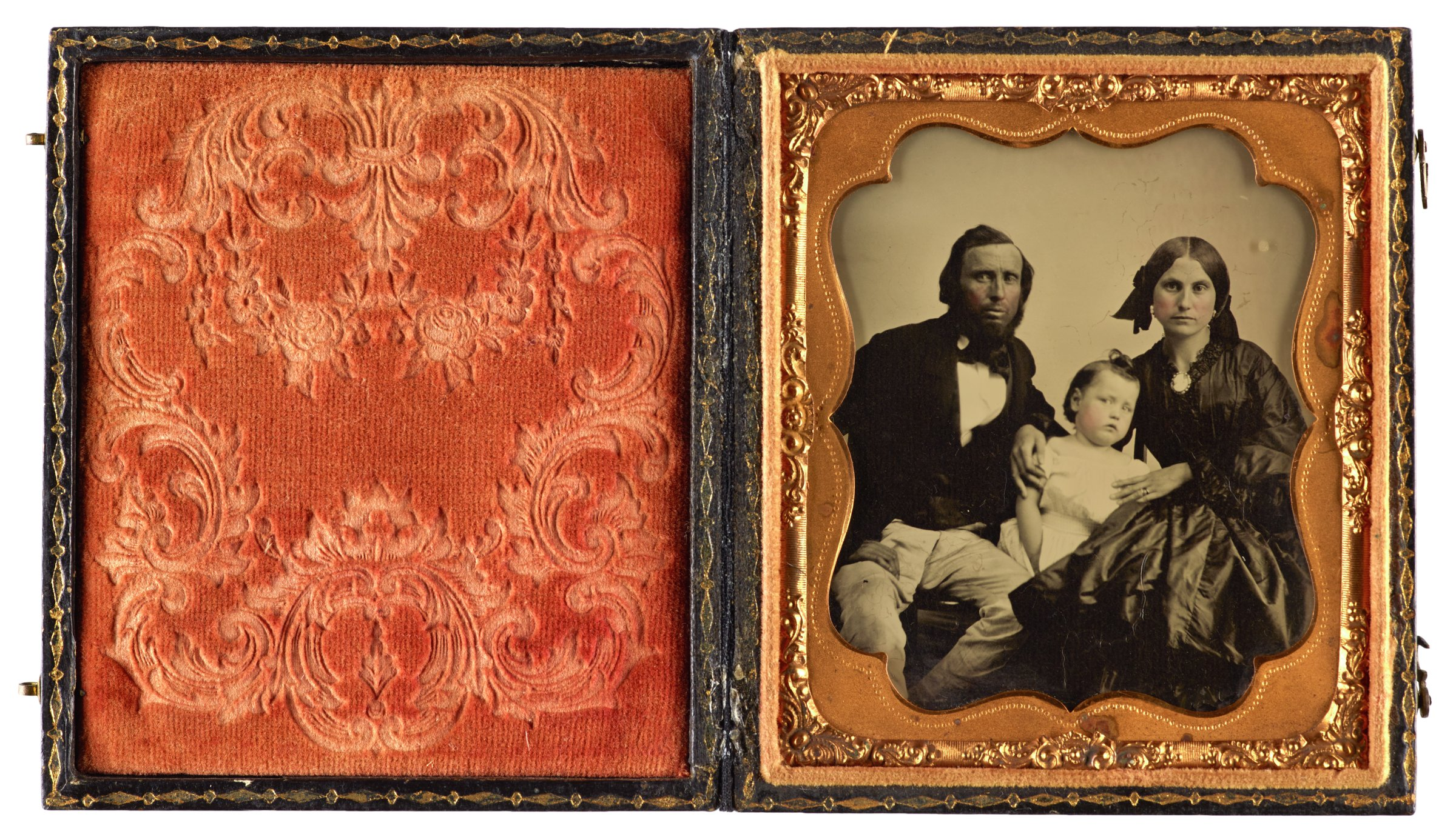 Family Portrait, ambrotype