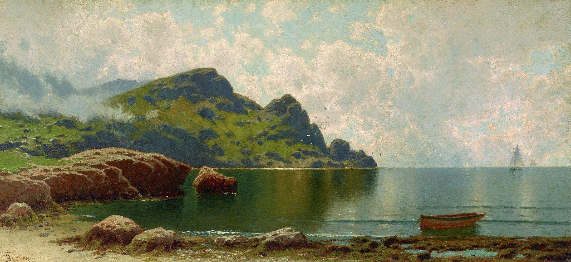 Grand Manan, Alfred Thompson Bricher, oil on canvas