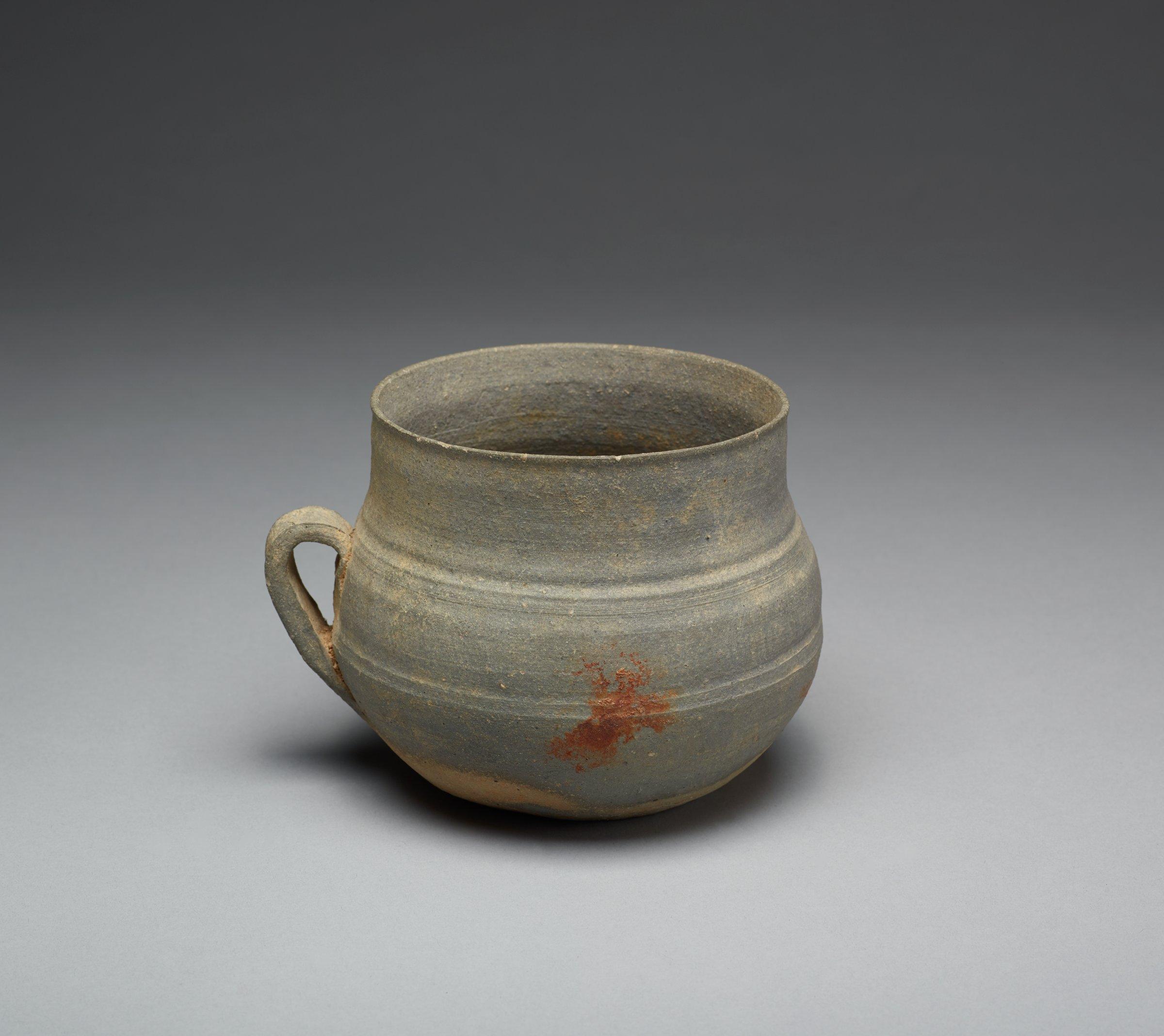 Handled Cup, Korea, stoneware