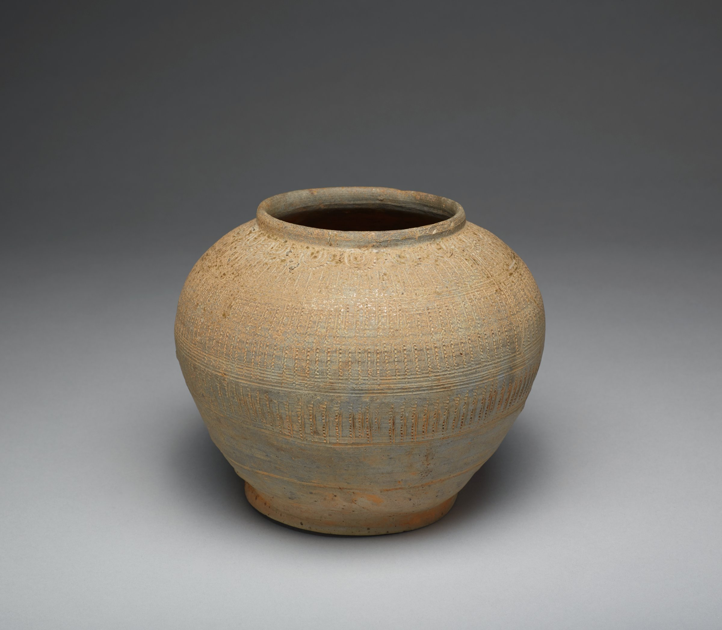 Jar, Korea, stoneware