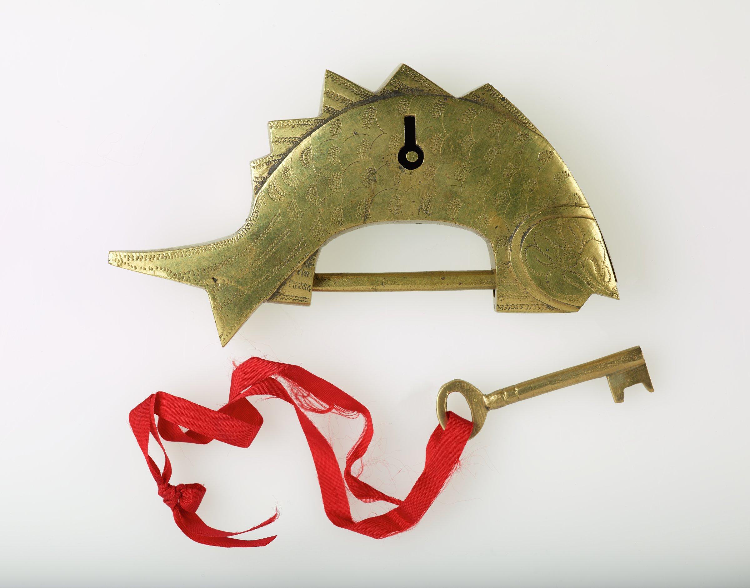 Lock, Korea, brass