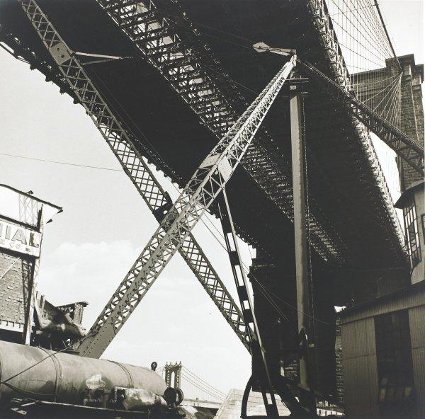 Bridge Span, Anton Bruehl, gelatin silver print