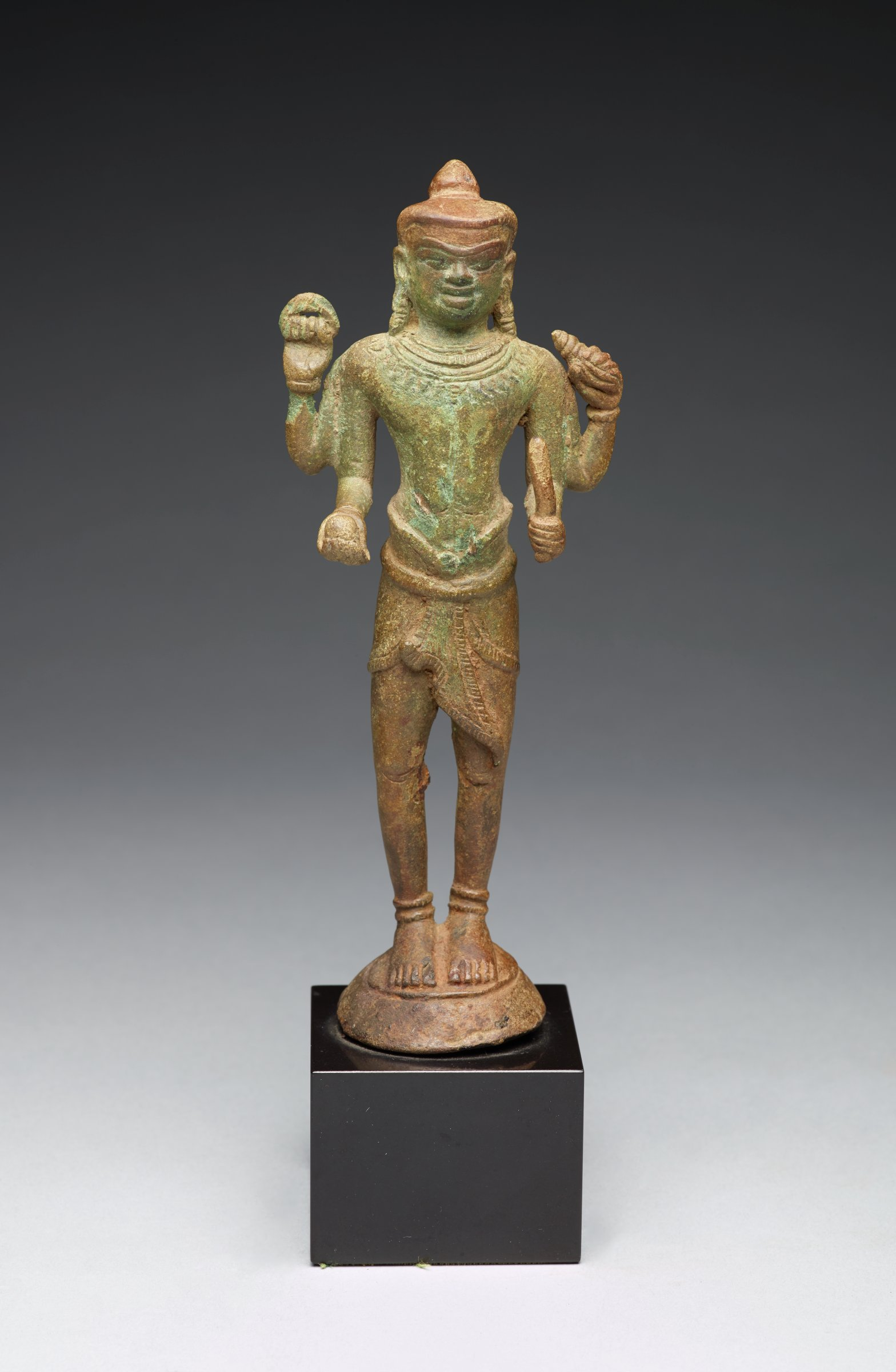 Four-Armed Standing Vishnu with short sarong